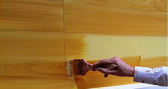 hướng dẫn cách phối màu sơn giả gỗ