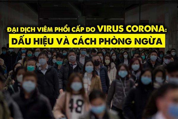 Phòng ngừa virus corona như thế nào