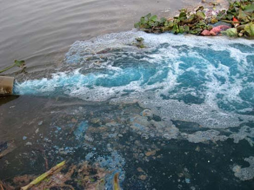 Nguyên nhân ô nhiễm từ sản xuất công nghiệp