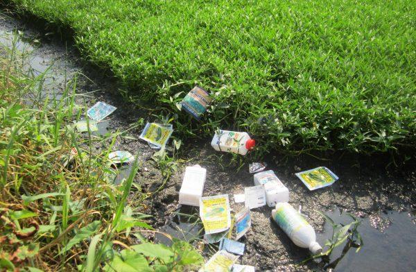 Nguyên nhân ô nhiễm từ sản xuất nông nghiệp