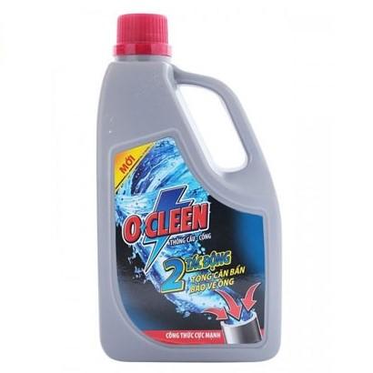 hóa chất thông cống ocleen