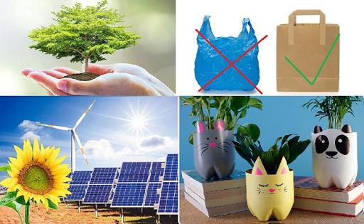 dùng năng lượng sạch