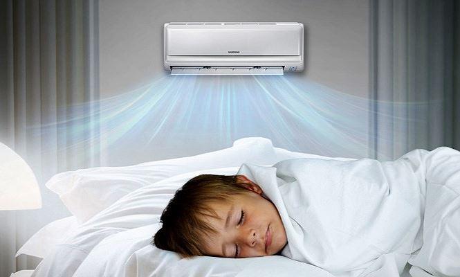 Không để nhiệt độ quá lạnh vào ban đêm