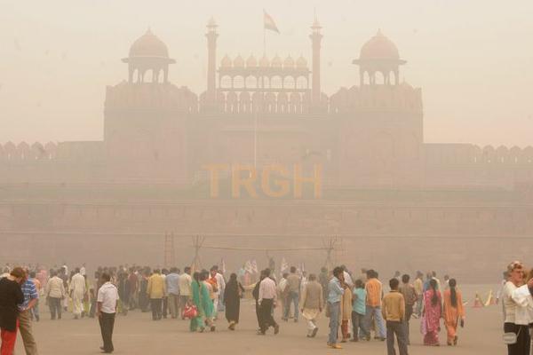 Không khí bị nhiễm bẩn tại Ấn Độ