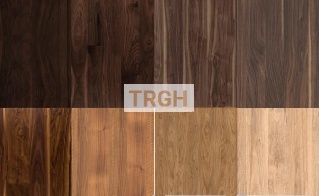 Màu sắc gỗ óc chó đa dạng